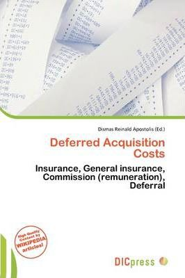 Deferred Acquisition Costs