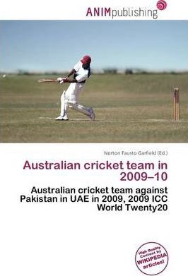 Australian Cricket Team in 2009-10