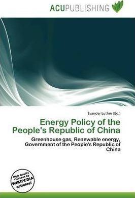 Energy Policy of the People's Republic of China