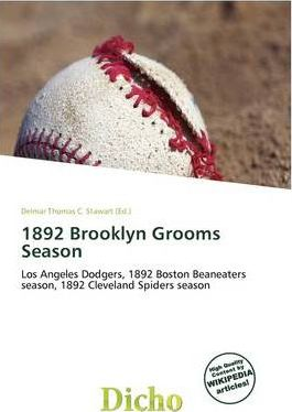 1892 Brooklyn Grooms Season