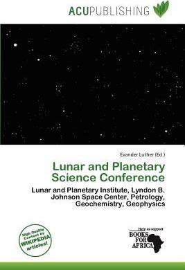 Lunar and Planetary Science Conference