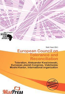 European Council on Tolerance and Reconciliation