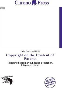 Copyright on the Content of Patents