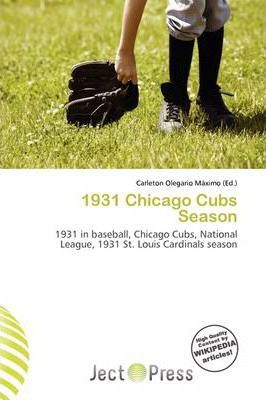 1931 Chicago Cubs Season