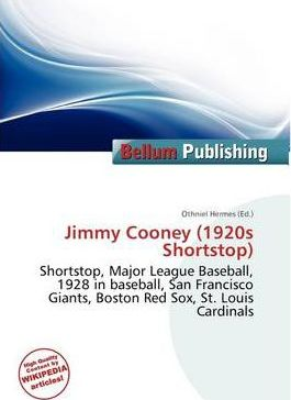 Jimmy Cooney (1920s Shortstop)