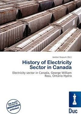 History of Electricity Sector in Canada