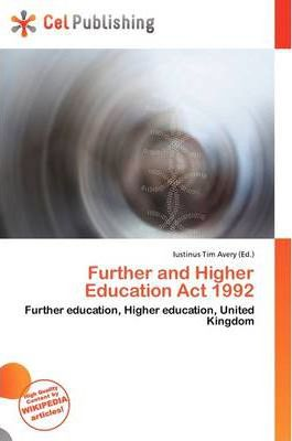 Further and Higher Education ACT 1992