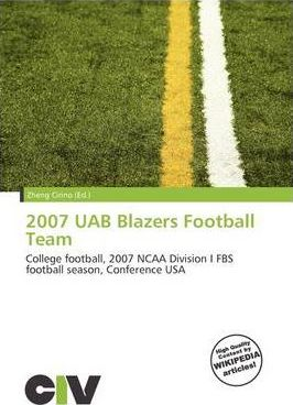2007 Uab Blazers Football Team