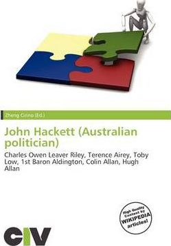 John Hackett (Australian Politician)