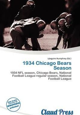 1934 Chicago Bears Season