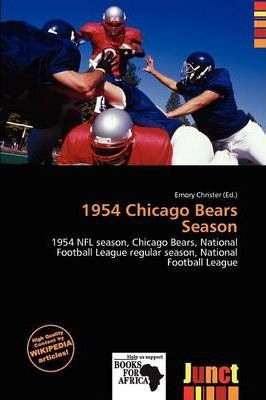 1954 Chicago Bears Season