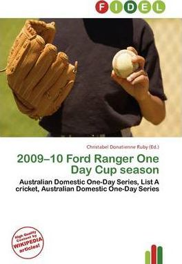 2009-10 Ford Ranger One Day Cup Season