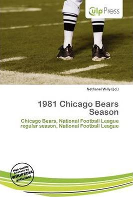 1981 Chicago Bears Season