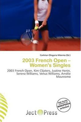 2003 French Open - Women's Singles