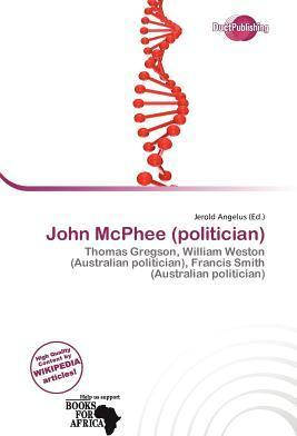John McPhee (Politician)