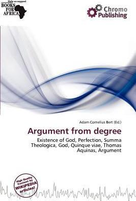 Argument from Degree