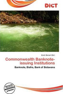 Commonwealth Banknote-Issuing Institutions