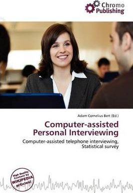 Computer-Assisted Personal Interviewing