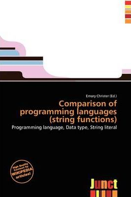 Comparison of Programming Languages (String Functions)