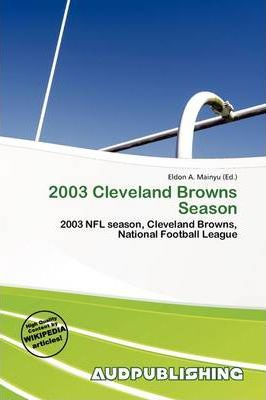 2003 Cleveland Browns Season