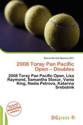 2008 Toray Pan Pacific Open - Doubles