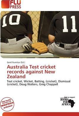 Australia Test Cricket Records Against New Zealand