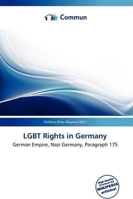 Lgbt Rights in Germany