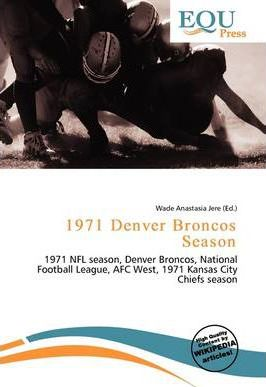 1971 Denver Broncos Season