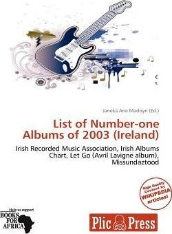 List of Number-One Albums of 2003 (Ireland)