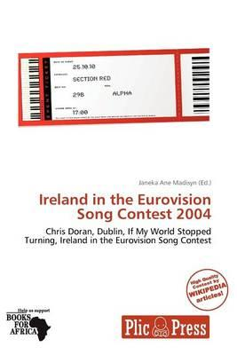 Ireland in the Eurovision Song Contest 2004