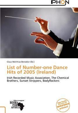 List of Number-One Dance Hits of 2005 (Ireland)