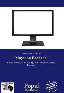 Maysoon Pachachi