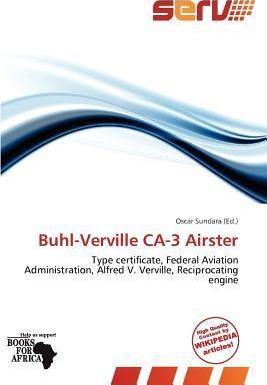 Buhl-Verville CA-3 Airster