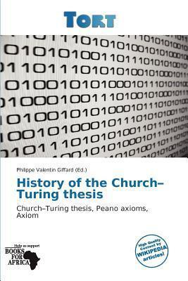 History of the Church-Turing Thesis