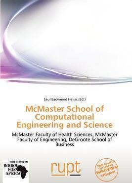 McMaster School of Computational Engineering and Science