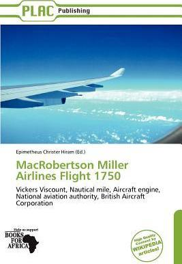 Macrobertson Miller Airlines Flight 1750