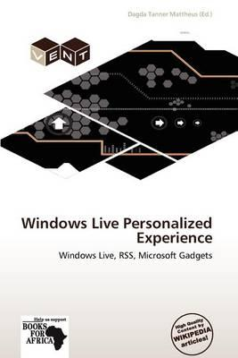 Windows Live Personalized Experience