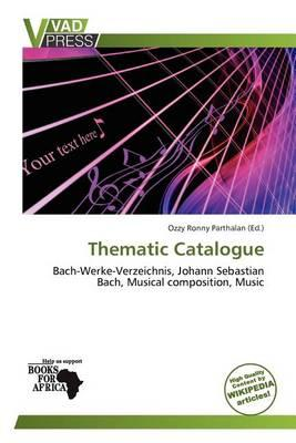 Thematic Catalogue