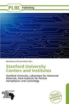 Stanford University Centers and Institutes