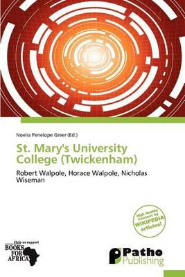 St. Mary's University College (Twickenham)