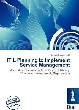 Itil Planning to Implement Service Management