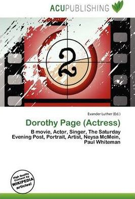 Dorothy Page (Actress)