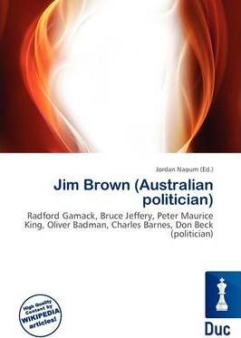 Jim Brown (Australian Politician)