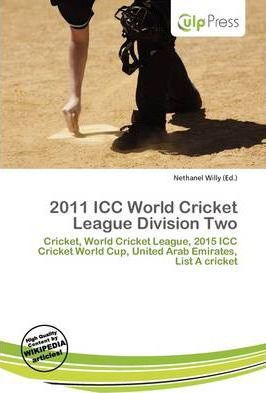 2011 ICC World Cricket League Division Two