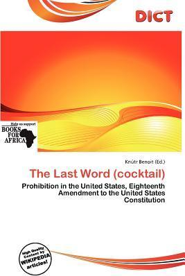 The Last Word (Cocktail)