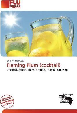 Flaming Plum (Cocktail)