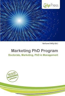Marketing PhD Program