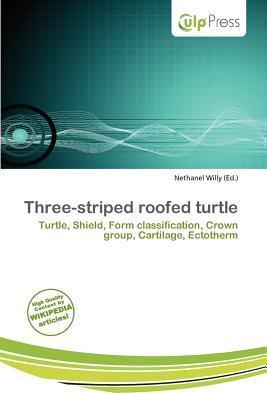 Three-Striped Roofed Turtle
