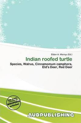 Indian Roofed Turtle