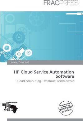 HP Cloud Service Automation Software
